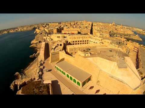 Breakwater, Fort St. Elmo, & Valletta ~ MALTA