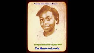 The Memories Live On (Official Release) by Keith Lionel Brown