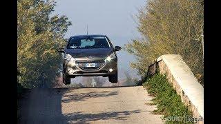 Peugeot 208 la prova su strada