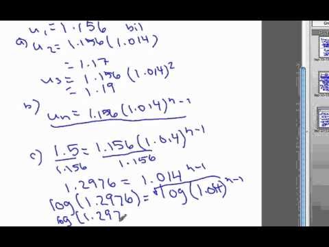 Geometric Sequence  Real Life Example  Youtube