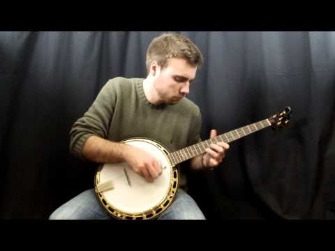 Acoustic Music Works Banjo Demo - Bishline Ziricote