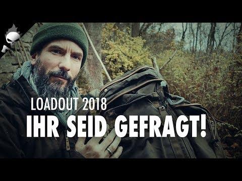 Fiese Männergrippe, Frage an Euch zum Loadout 2018 und mein neuer Rucksack