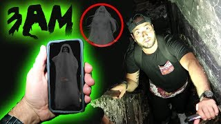 DO NOT USE GUAVA JUICE GHOST TRACKER APP AT 3AM IN A HAUNTED HOUSE! ALONE IN TOMS BASEMENT!