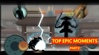 Top Epic moments in Shadow fight 2   Part 2
