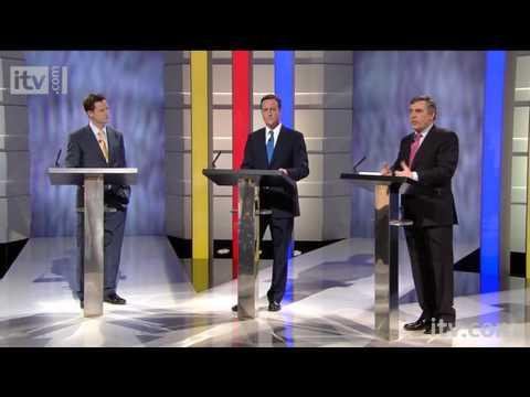 The First Election Debate | Gordon Brown on troops in Afghanistan | ITV