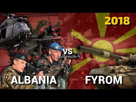 Albania vs FYROM - Military Power Comparison 2018
