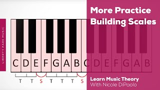 More Practice Building Major Scales | Music Theory | ABRSM Grade 4 | Video Lesson