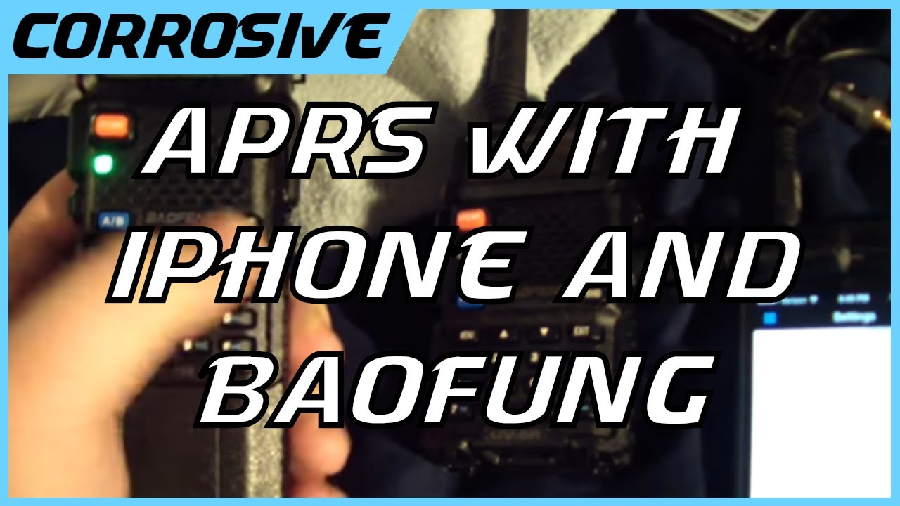 Download APRS with a UV5R and iPhone