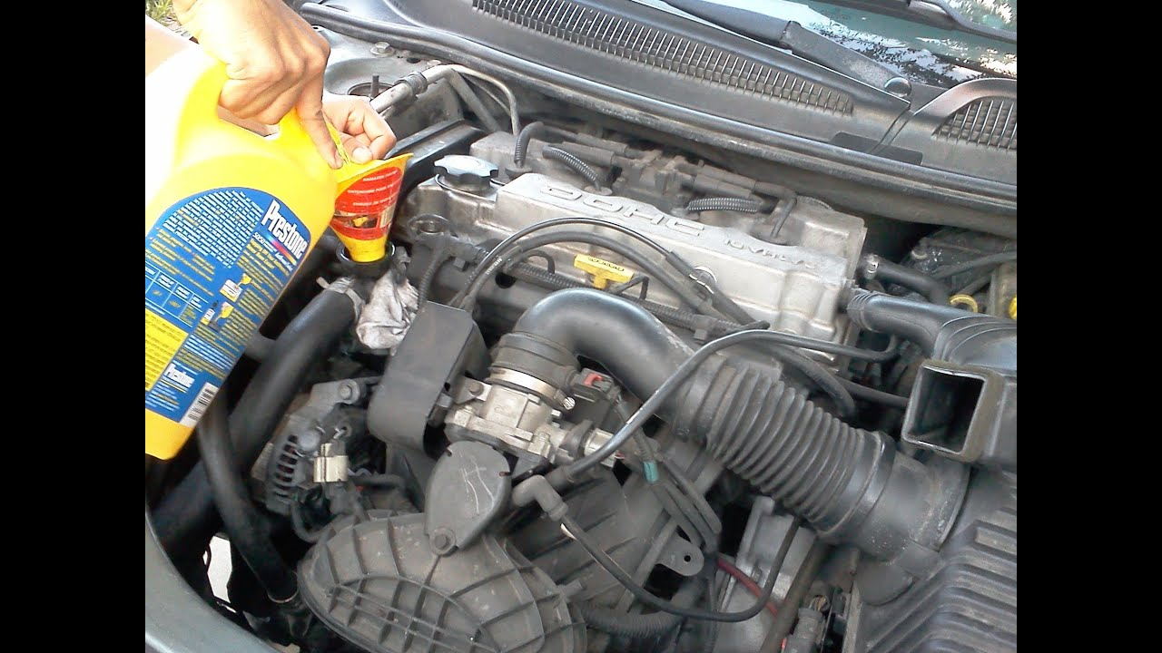 Replacing Radiator On Dodge Stratus Youtube