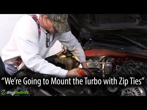 He Wants to Mount the Turbo with Zip Ties...🙈🤷🏼♂️
