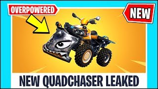 FORTNITE NEWS - NEW CAR, THE MOST OVERPOWERED CAR IN FORTNITE!! Fortnite Quadcrasher Leaked!