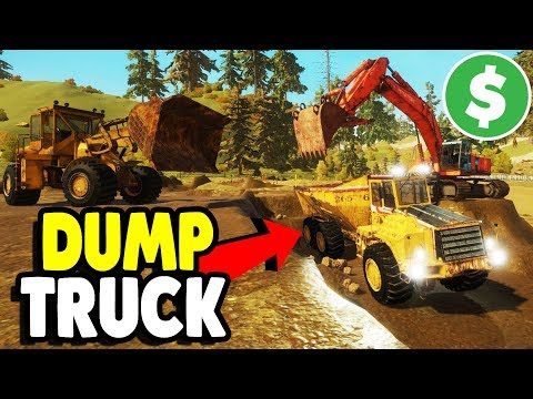 MINING $1,000,000 GOLD MINE & DUMP TRUCK | Gold Rush: The Game Gameplay