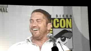 gerard butler answers craziest moment on set