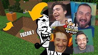 HASAN ABİDEN EFSANE TROLL ! - EKİP Minecraft Öğrendi !?