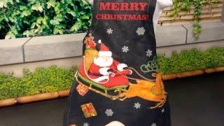 Avental de Natal – Passo a passo