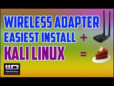 How to Install Alfa AWUS036ACH Wireless Adapter in Kali Linux 2017.3
