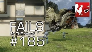 Fails of the Weak: Ep. 185 - Funny Halo Bloopers and Screw Ups!   Rooster Teeth