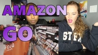 introducing amazon go and the worlds most advanced shopping technology reaction 🔥