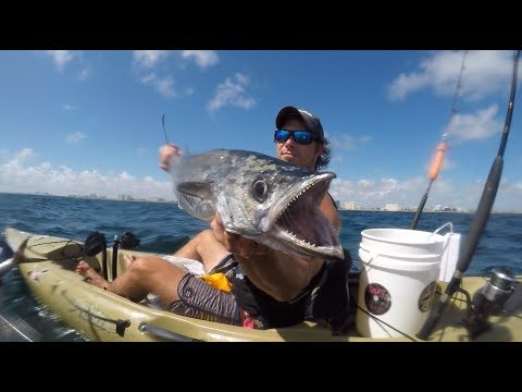 FLEX SEAL OFFSHORE KAYAK FIX & KINGFISH!!