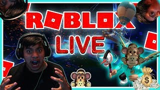 ROBLOX LIVE STREAM GAMES -EXTREME ROBUX GIVEAWAY TONIGHT TRY YOUR LUCK- MOD GIVEWAYA TOO !! 220