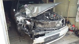 Тойота Crown. Кузовной ремонт ВЫСШЕГО уровня
