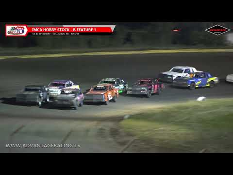 Compact Heats/Hobby Stock B Features - US 30 Speedway - 9/14/19