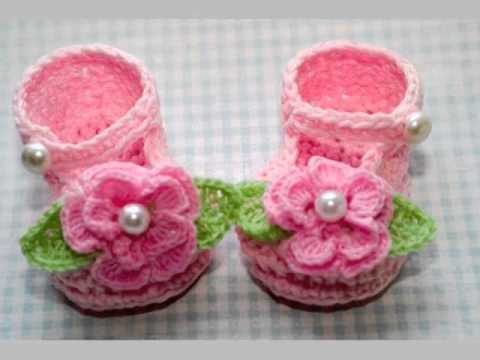 Handmade Baby Clothes Shoes - YouTube