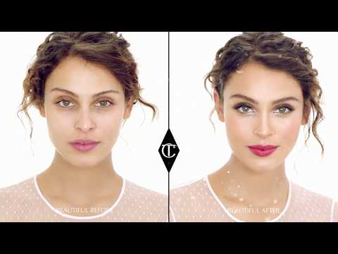 Makeup Tutorial: Winter Wonderland Wedding Look   Charlotte Tilbury