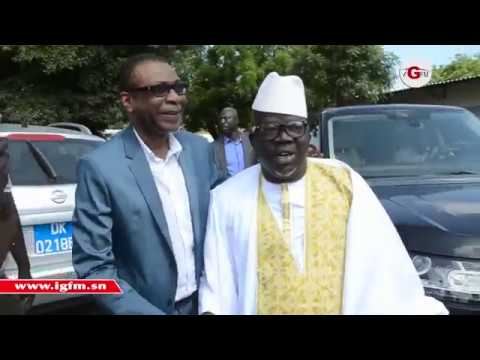 Youssou Ndour au baptême du fils de Ndoye Bane