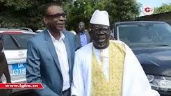 Youssou Ndour au baptme du fils de Ndoye Bane