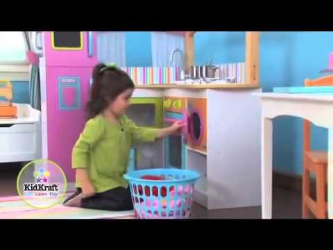 Childrens Kids Play Kitchen KidKraft Big And Bright 53193