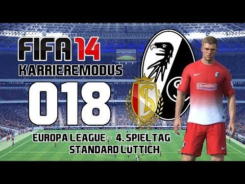 Let's Play FIFA 14 | Karrieremodus - #018 Europa League 4. Spieltag - Standard Lüttich | ᴴᴰ