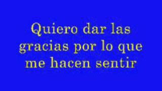 ABBA - Gracias por la Música - Thank You for the Music - Spanish - Español