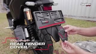 Hayaidesu Honda ADV Rear Fender Body Protector Cover