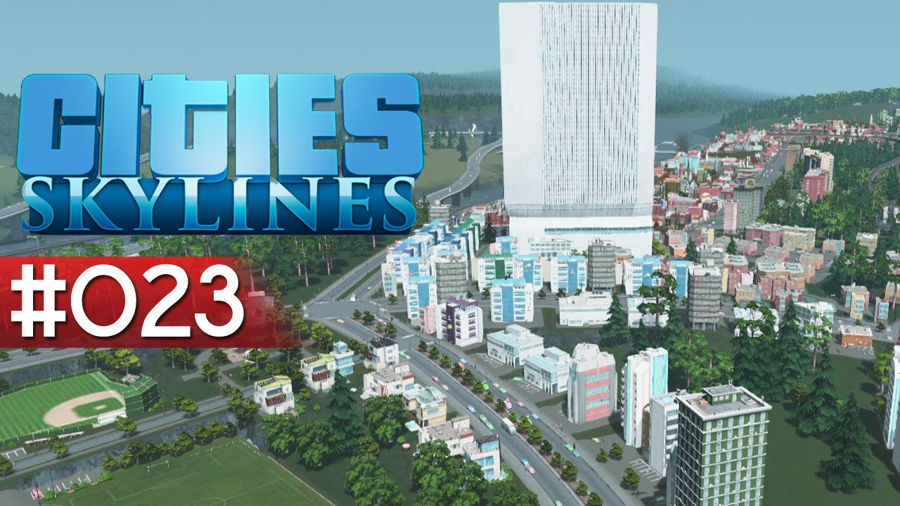 Let 39 s play cities skylines deutsch 023 eine u bahn for Us city skylines photos