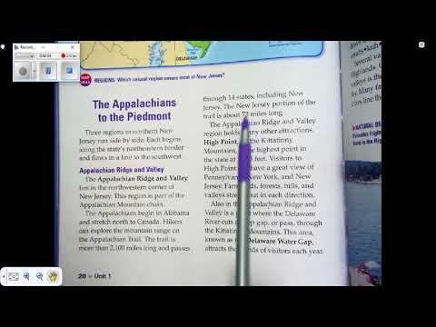 Appalachian Ridge and Valley Region Video