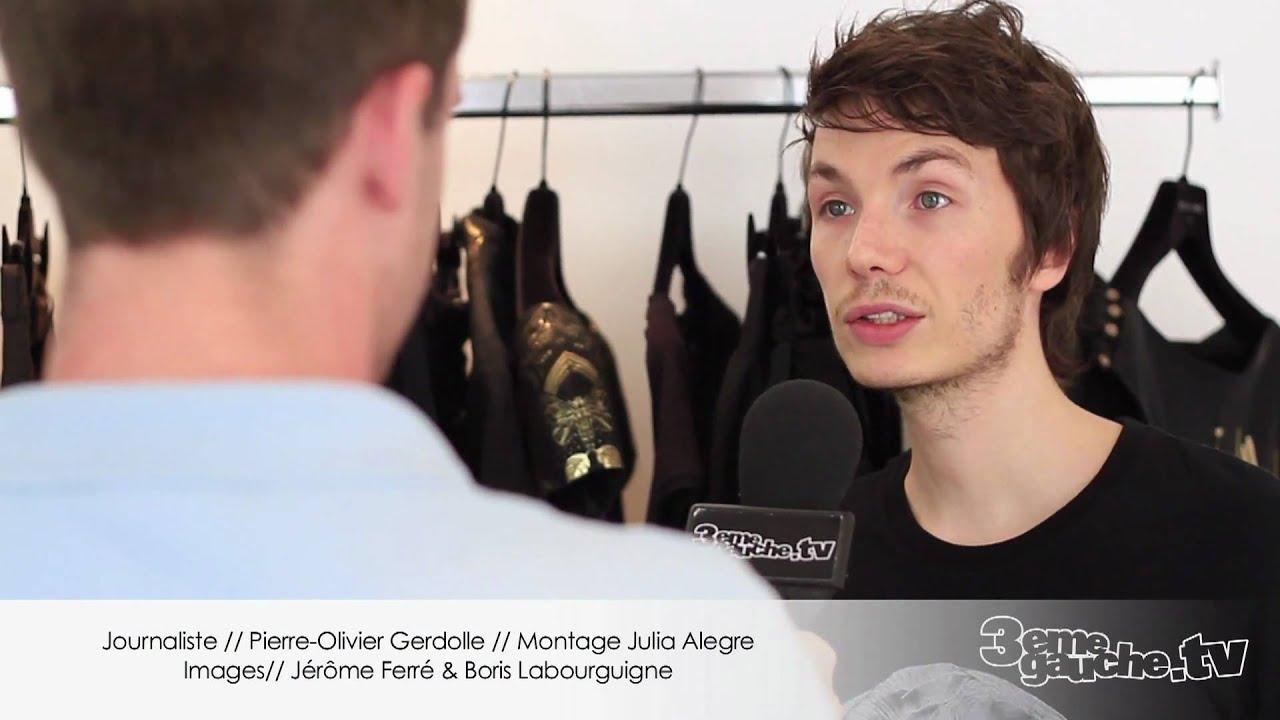 Rencontre avec Maxime Simoens // Créateur Mode Paris