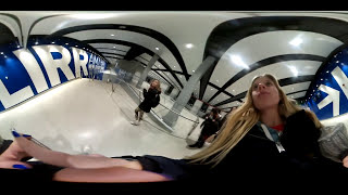 singing in the train station prank (360 camera)