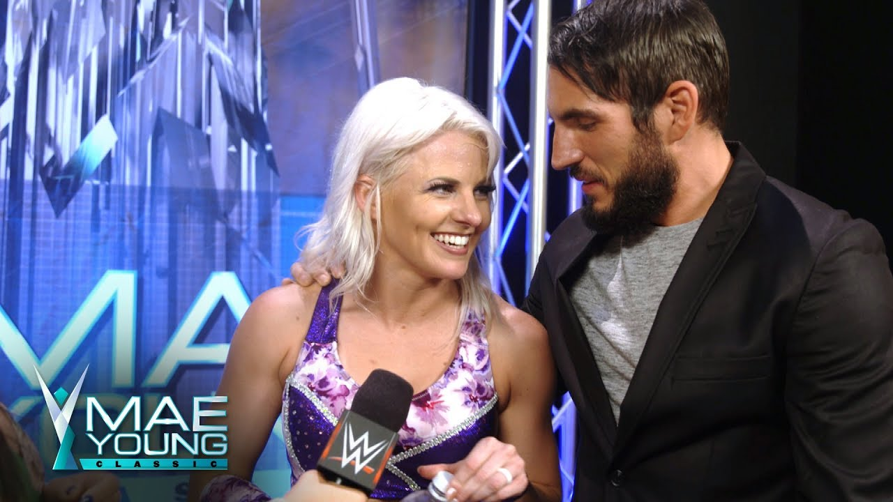 Image result for candice lerae and johnny gargano