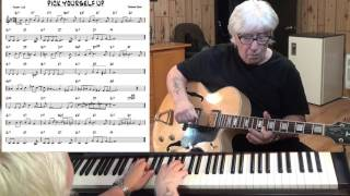 Pick Yourself Up - Jazz guitar & piano cover ( Jerome Kern )