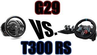 Sim Racing FFB Wheel Comparison - Logitech G29
