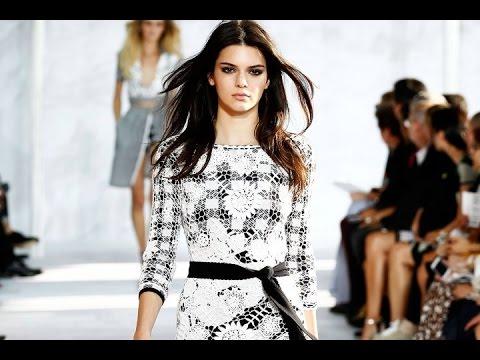 Kendall Jenner Naomi Campbell New York Fashion Week DVF