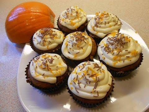 Thanksgiving Pumpkin Cupcakes Recipe