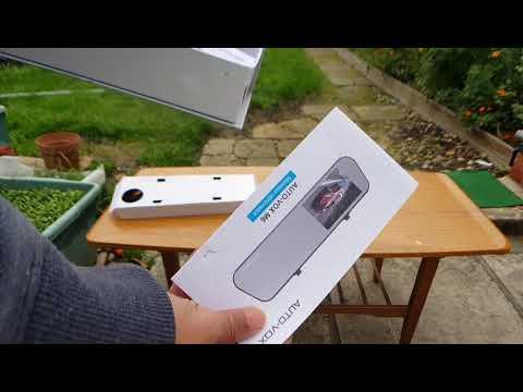 Auto Vox M6 Mirror Dash Cam & Backup Camera