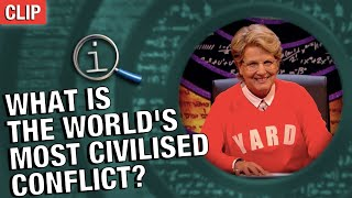 QI | What Is The World's Most Civilised Conflict?