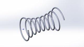 Solidworks. Создание модели гиперболоидной  пружины