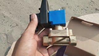 Automatic fluid control valve. Solenoid control valve. Industrial control valve. tork control valve