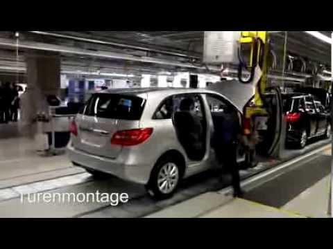 Mercedes-Benz B-Class production in Kecskemét