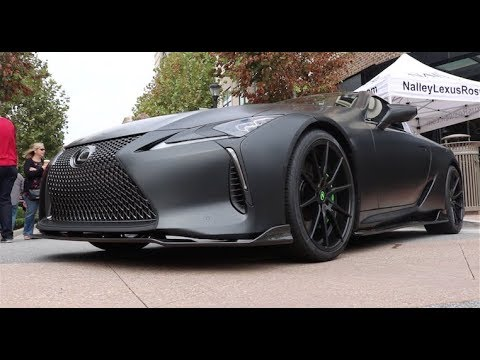Lexus Of Atlanta >> 2018 Lexus LC 500 Walkaround - YouTube
