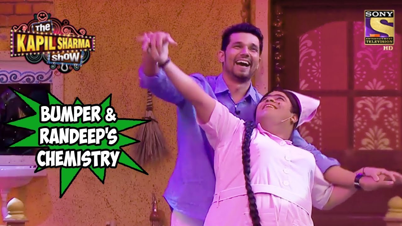 Bumper's Chemistry With Randeep Hooda - The Kapil Sharma Show